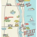 A Sunny Escape: 3 Perfect Days In Delray Beach, Florida | Other   Del Ray Florida Map