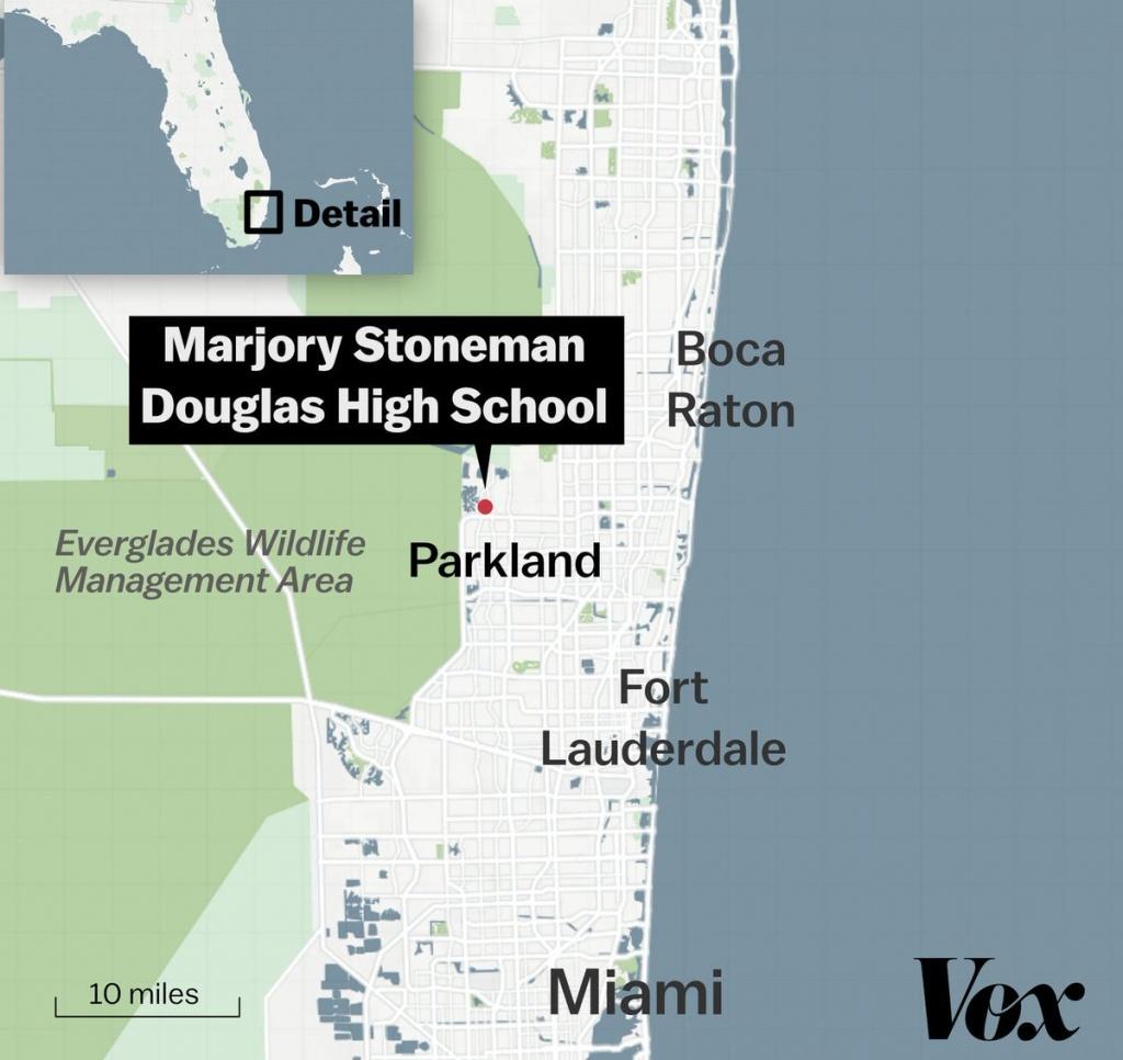 A Thread Written@voxdotcom - Parkland Florida Map
