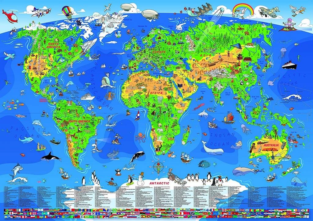 A1Biaqaa5Tl Sl1500 Children S Map Of Australia 7 - World Wide Maps - Children's Map Of The World Printable