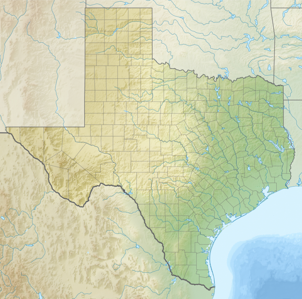 Adobe Walls, Texas - Wikipedia - Adobe Walls Texas Map