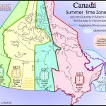 Adt Time | Sitedesignco   Canada Time Zone Map Printable
