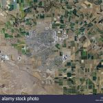 Aerial Photo Map Of Tracy, California Stock Photo: 58481373   Alamy   Tracy California Map