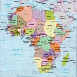 Africa Map Countries And Capitals | Online Maps: Africa Map With   Printable Map Of Africa With Capitals