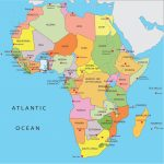 Africa Map With Capitals   Lgq   Printable Map Of Africa With Capitals