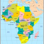 Africa Political Map 2017   Maplewebandpc   Printable Political Map Of Africa