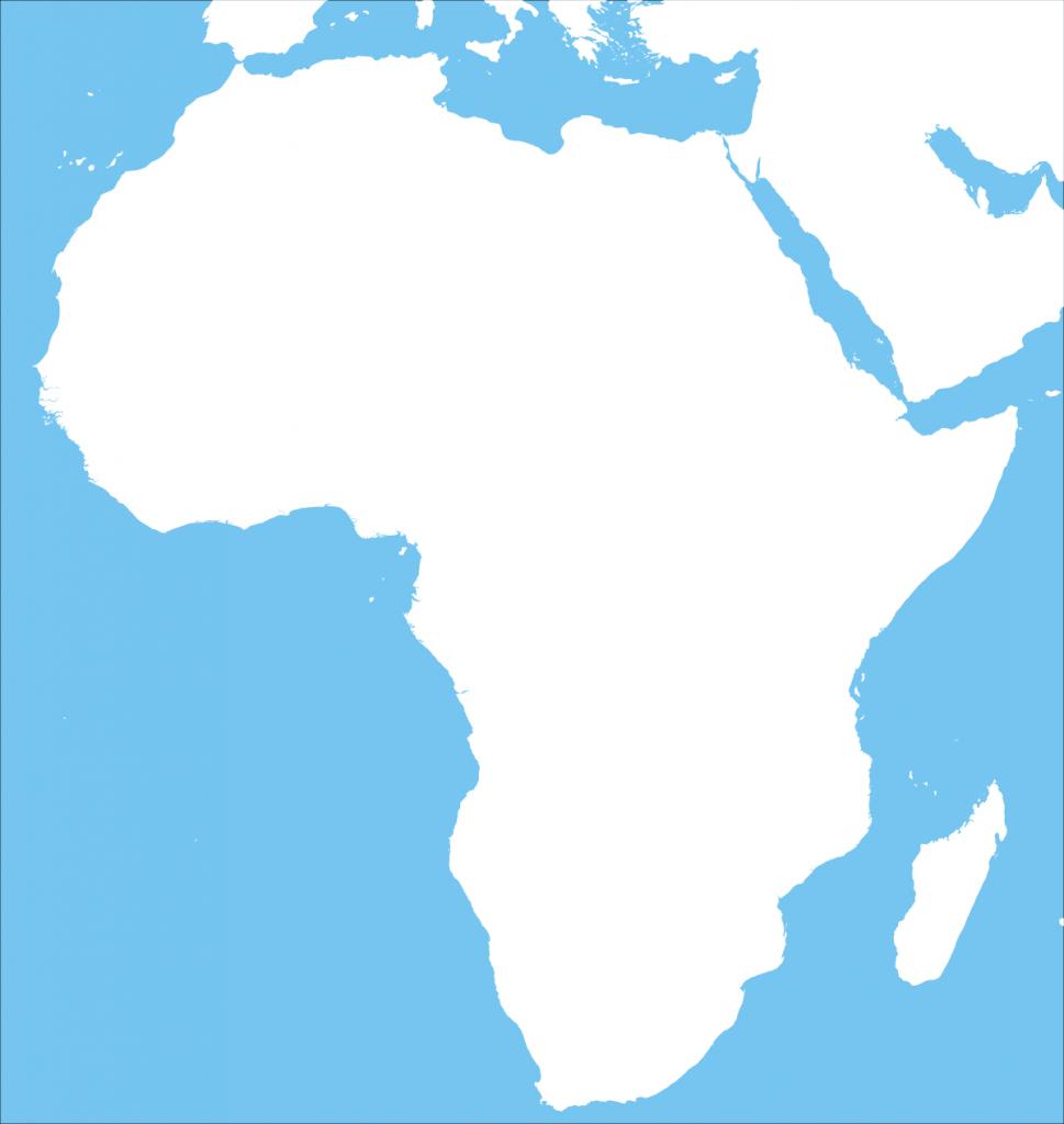 Africa – Printable Maps –Freeworldmaps - Blank Political Map Of Africa Printable