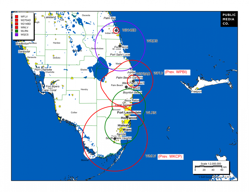 After Sale Of Classical South Florida, Scramble Is On To Ensure - Current Map Of Florida