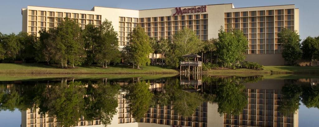 Airport Hotel With Parking And Free Shuttle | Orlando Airport - Map Of Hotels In Orlando Florida