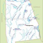 Alabama Rivers Map | Rivers In Alabama   Us Map Of Alabama And Florida