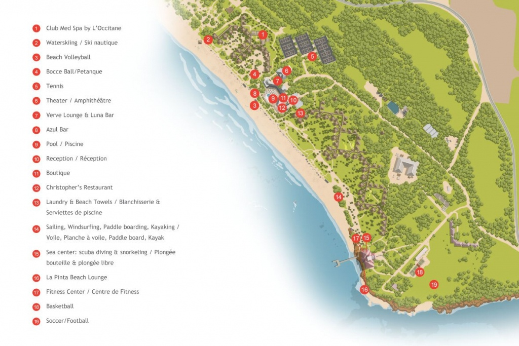 All Inclusive Resort In The Bahamas   All Inclusive Vacations With - Club Med Florida Map