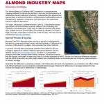 Almond Industry Maps | California Almonds   Your Favorite Easy Snack   California Almond Farms Map