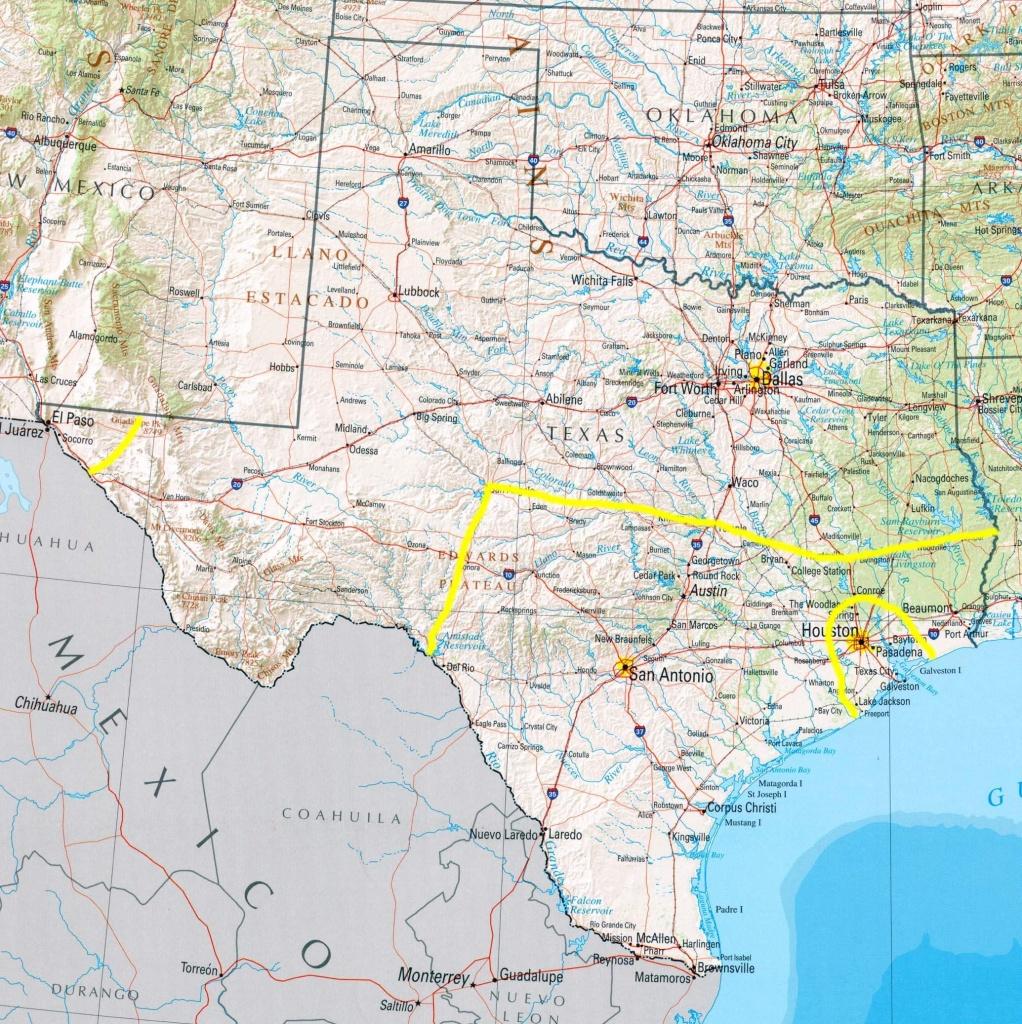 Amarillo Texas Map - Where Is Amarillo On The Texas Map