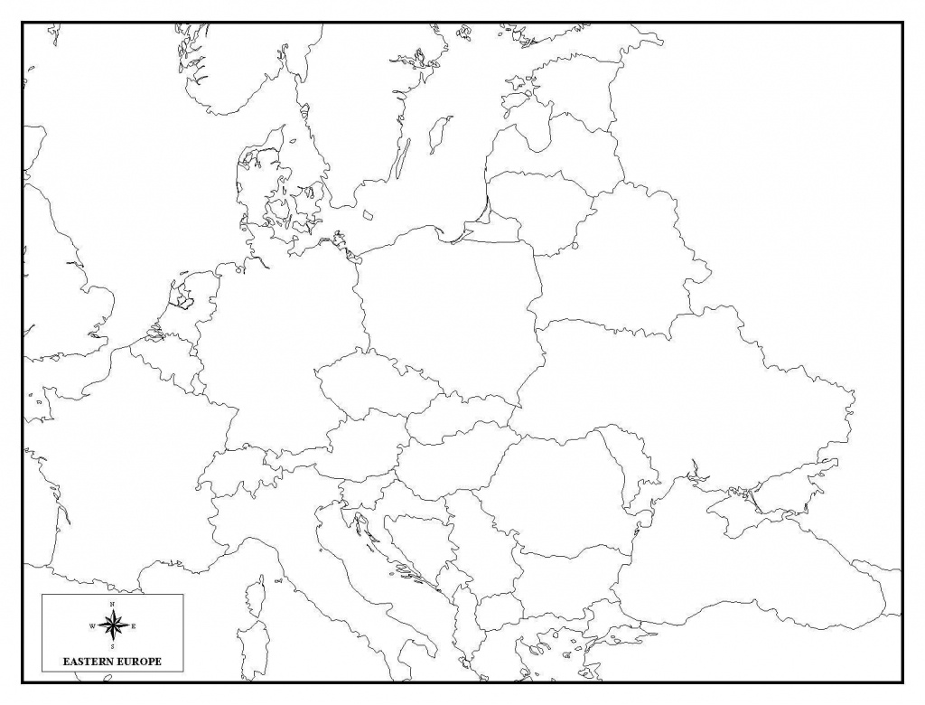 Amazing Blank Europe Map Quiz 6 Of 5 - World Wide Maps - Europe Map Quiz Printable
