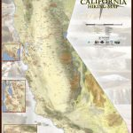 Amazing New Map Details Nearly Every Single Hiking Trail In   Backpacking Maps California