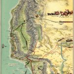 Amazing Oblique #map Of Southern #california,gerald A Eddy From   Historical Maps Of Southern California