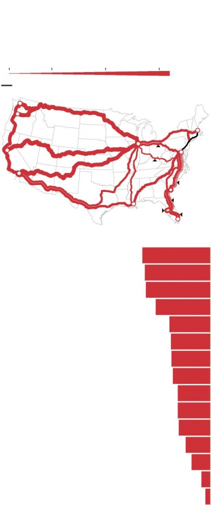 Amtrak Plan To Expand Ridership Could Sidetrack Storied Trains - Wsj - Amtrak Texas Eagle Route Map