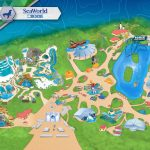 Amusement Parks In The Us Map Themeparkmap Best Of Seaworld San   Printable Sea World San Diego Map