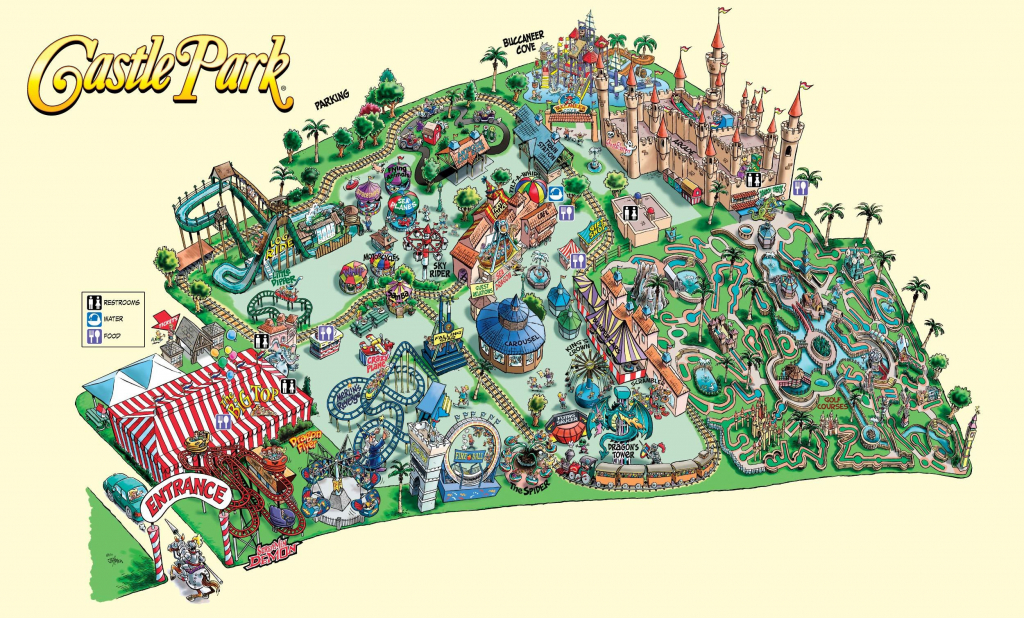 Amusement Parks In The Us Map Themeparkmap New Discover Acres Of - Southern California Amusement Parks Map