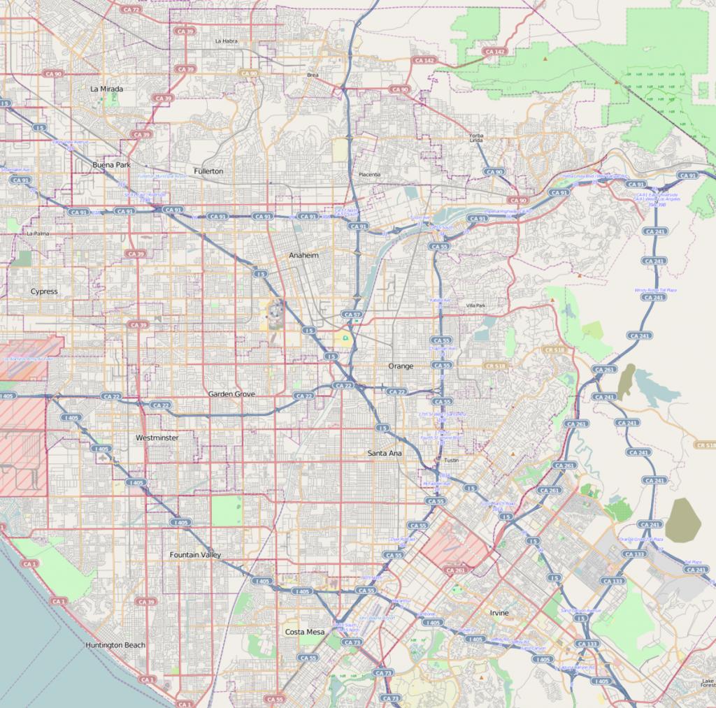 Anaheim Resort - Wikipedia - Anaheim California Map