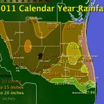 Annual Weather Capsule For 2011 In Deep South Texas And The Rio   King Ranch Texas Map