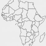 Another Similar But Sleeker Looking Free Printable Political Map Of   Printable Political Map Of Africa