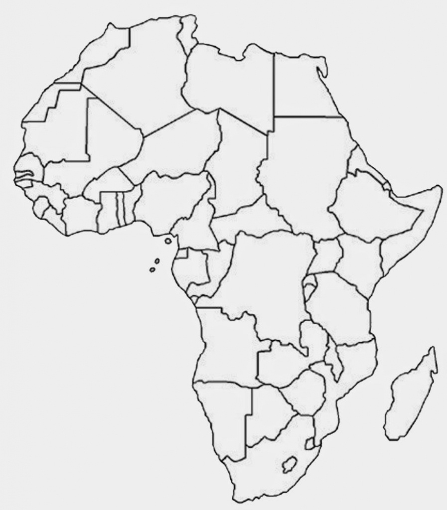 Another Similar But Sleeker Looking Free Printable Political Map Of - Printable Political Map Of Africa