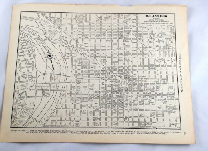 Printable Map Of Historic Philadelphia