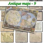 Antique Maps 9 Collection Of 130 Large Size Images Printable Old   Printable Old Maps