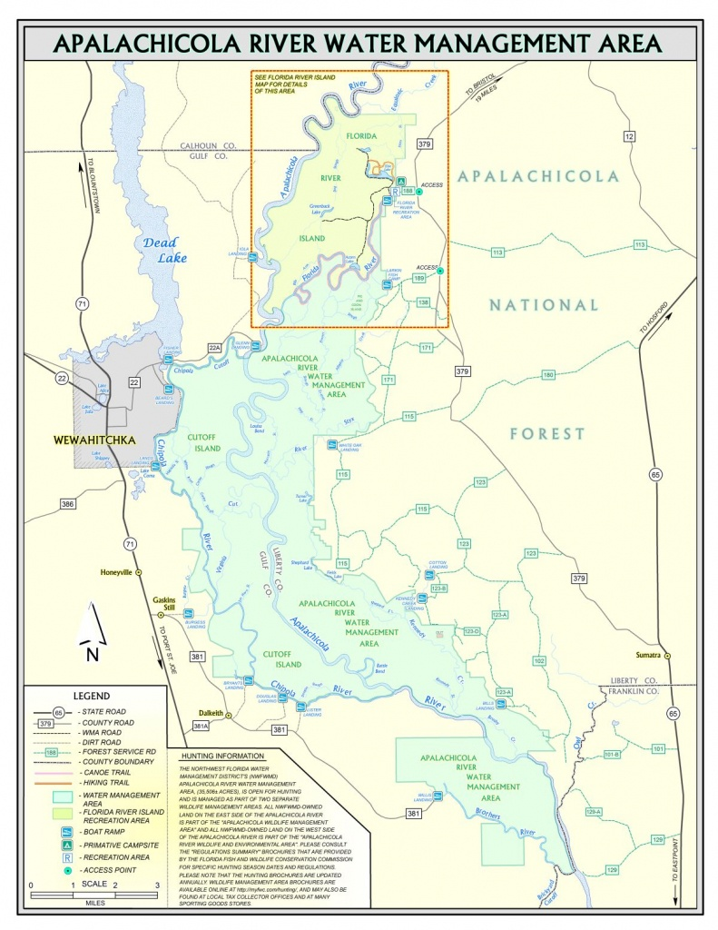 Apalachicola River | Northwest Florida Water Management District - Northwest Florida Water Management District Map