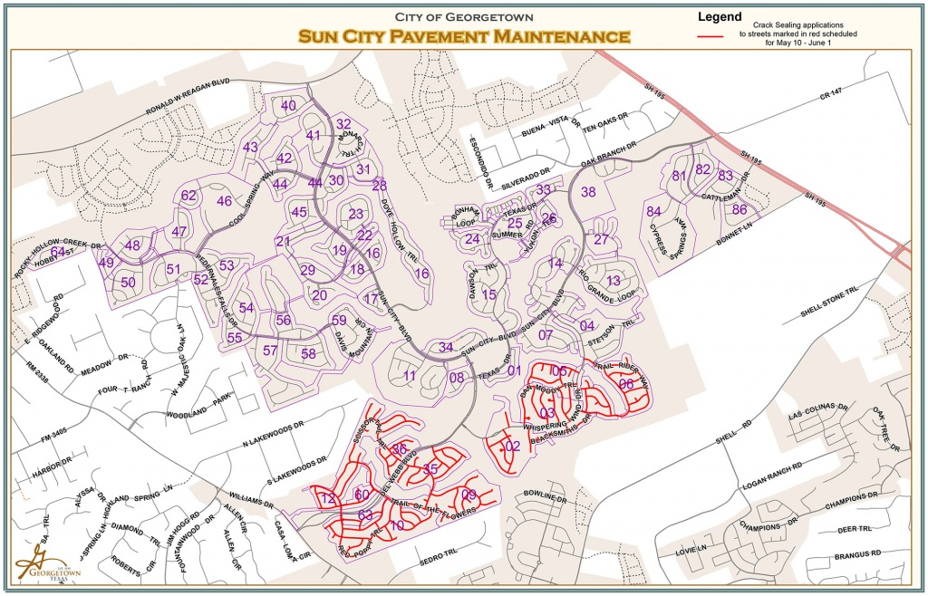 Archived – Page 15 – City Of Georgetown Texas - Sun City Texas Map