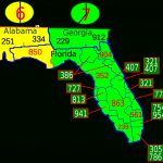 Area Code 850 - Wikipedia - Map Of Panama City Florida And Surrounding Towns