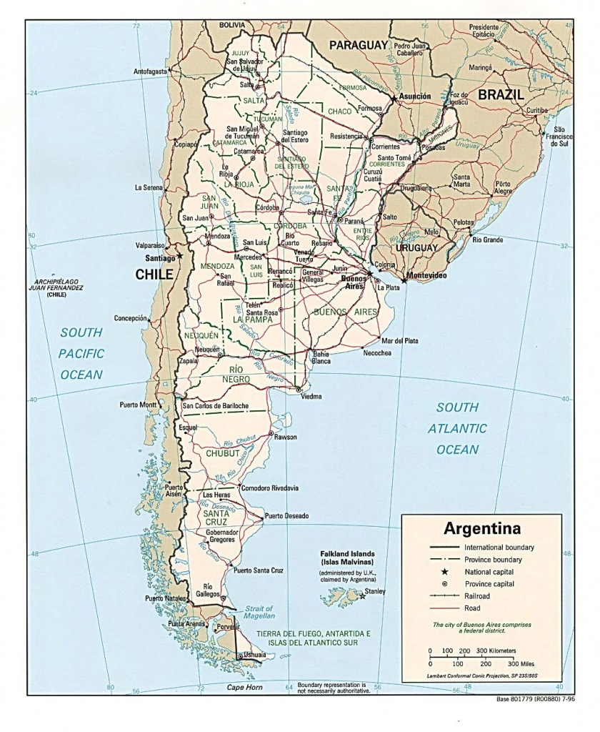 Argentina Maps | Printable Maps Of Argentina For Download - Printable Map Of Argentina