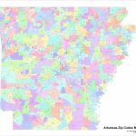 Arkansas Zip Code Maps   Free Arkansas Zip Code Maps   Printable Map Of Omaha With Zip Codes