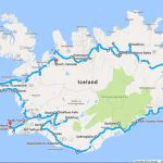 Around The Road In 8 Days - Iceland Ring Road Itinerary   Annual - Printable Driving Map Of Iceland