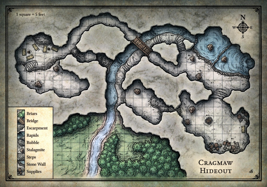 Assets/roll 20/wizards Of The Coast/lost Mine Of Phandelver Roll20 - Lost Mine Of Phandelver Printable Maps