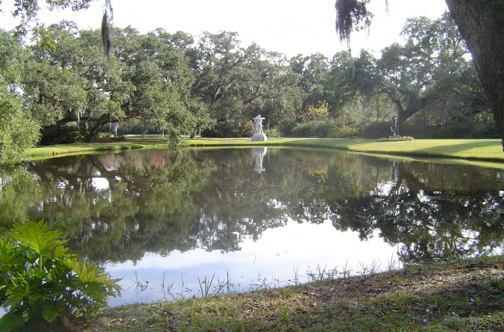 Atalaya And Brookgreen Gardens - Wikipedia - Brookgreen Gardens Printable Map