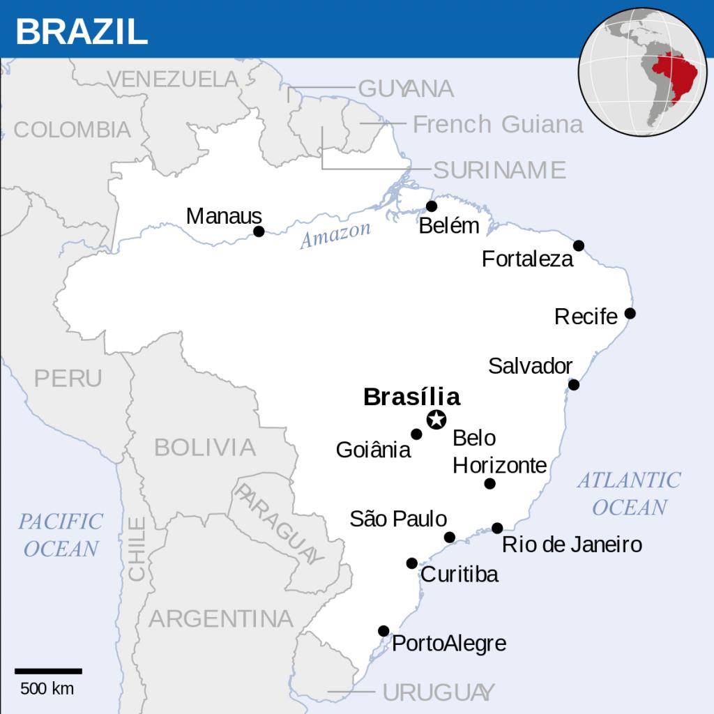 Atlas Of Brazil - Wikimedia Commons - Printable Map Of Brazil