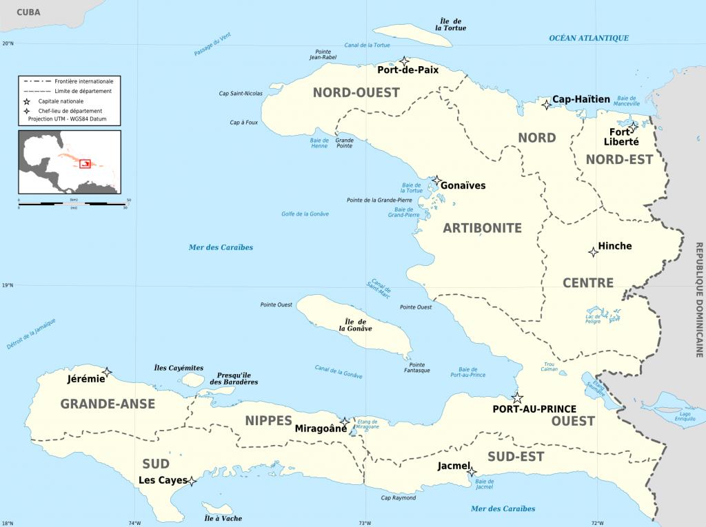 Atlas Of Haiti - Wikimedia Commons - Printable Map Of Haiti