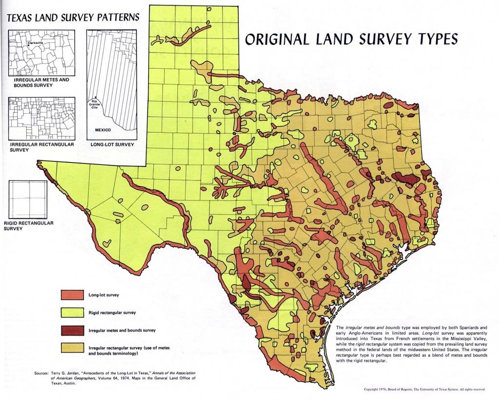 Atlas Of Texas - Perry-Castañeda Map Collection - Ut Library Online - Texas Land Map