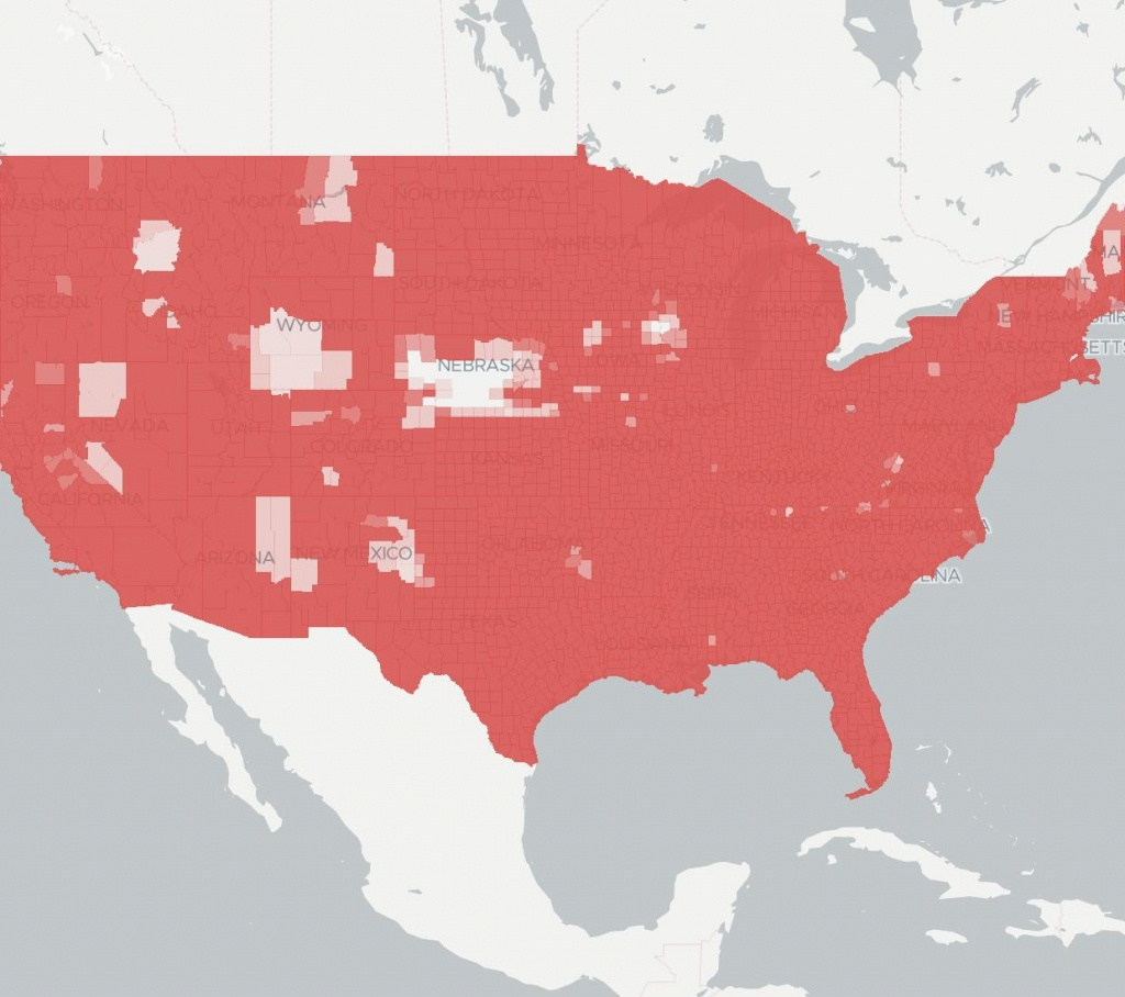 At&t Wireless | Internet Provider | Broadbandnow - At&t Coverage Map Florida