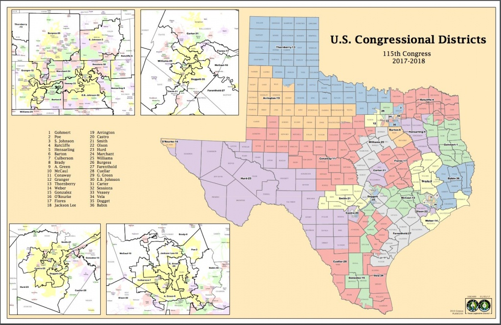Attorneys Say Texas Might Have New Congressional Districts Before - Brady Texas Map