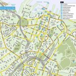 Auckland Map Centre - Map Of Auckland City Centre (New Zealand) - Printable Map Of Auckland
