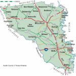 Austin County | The Handbook Of Texas Online| Texas State Historical - Austin County Texas Map