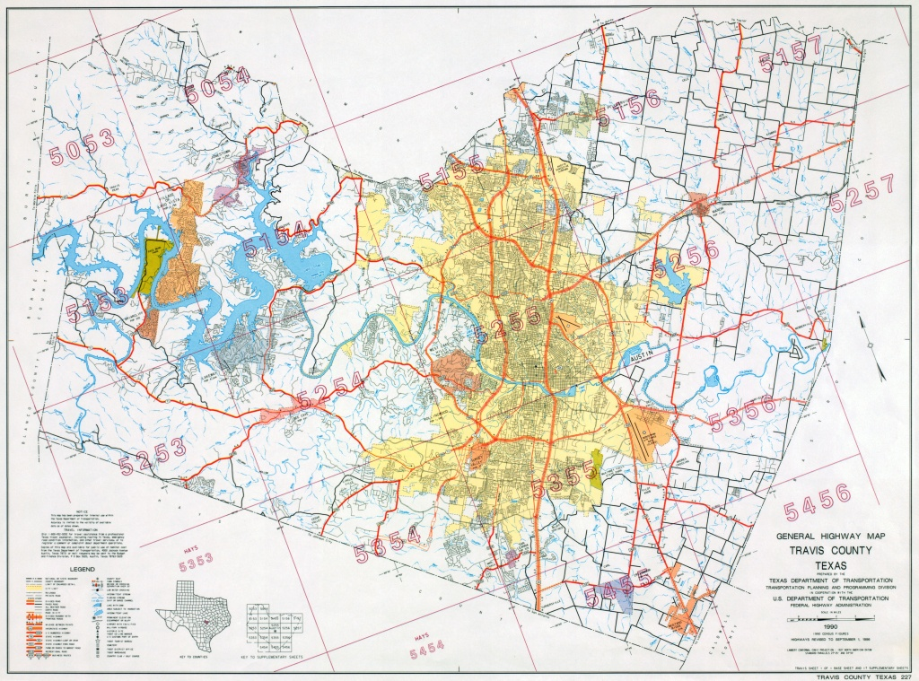 Austin, Texas Maps - Perry-Castañeda Map Collection - Ut Library Online - Austin County Texas Map