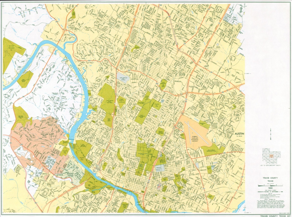 Austin, Texas Maps - Perry-Castañeda Map Collection - Ut Library Online - Texas Street Map