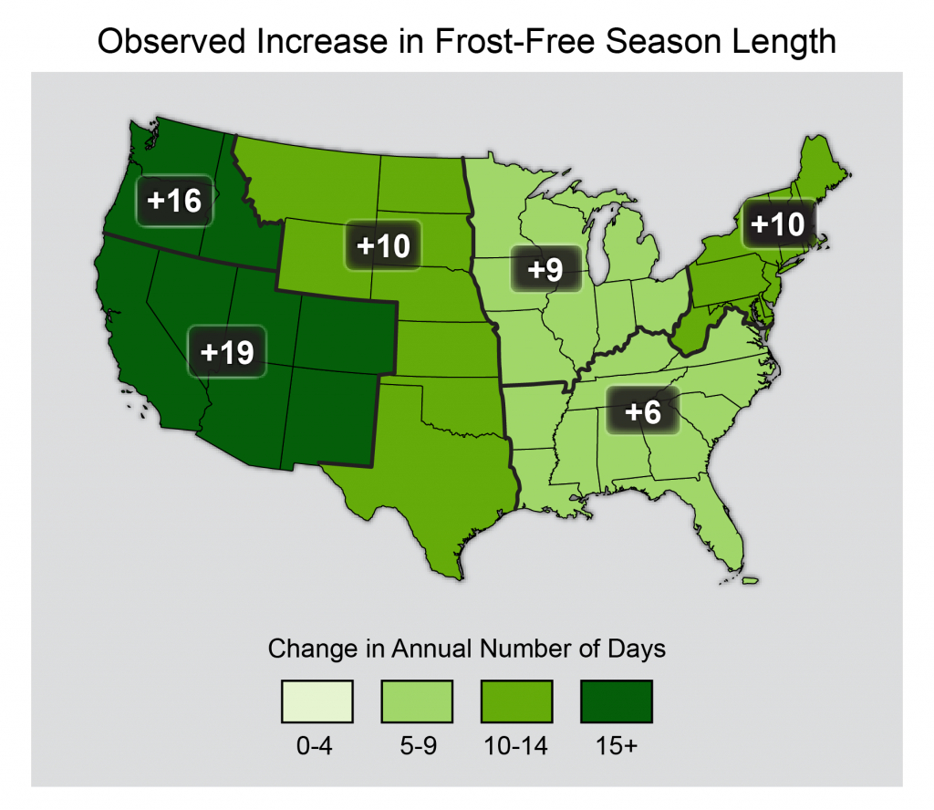Bad News For Southeast Peaches: Something Freezing This Way Came - Chill Hours Map California