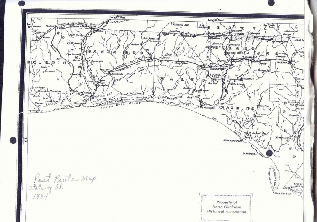 Baker Block Museum Map Collection - Florida Section Map