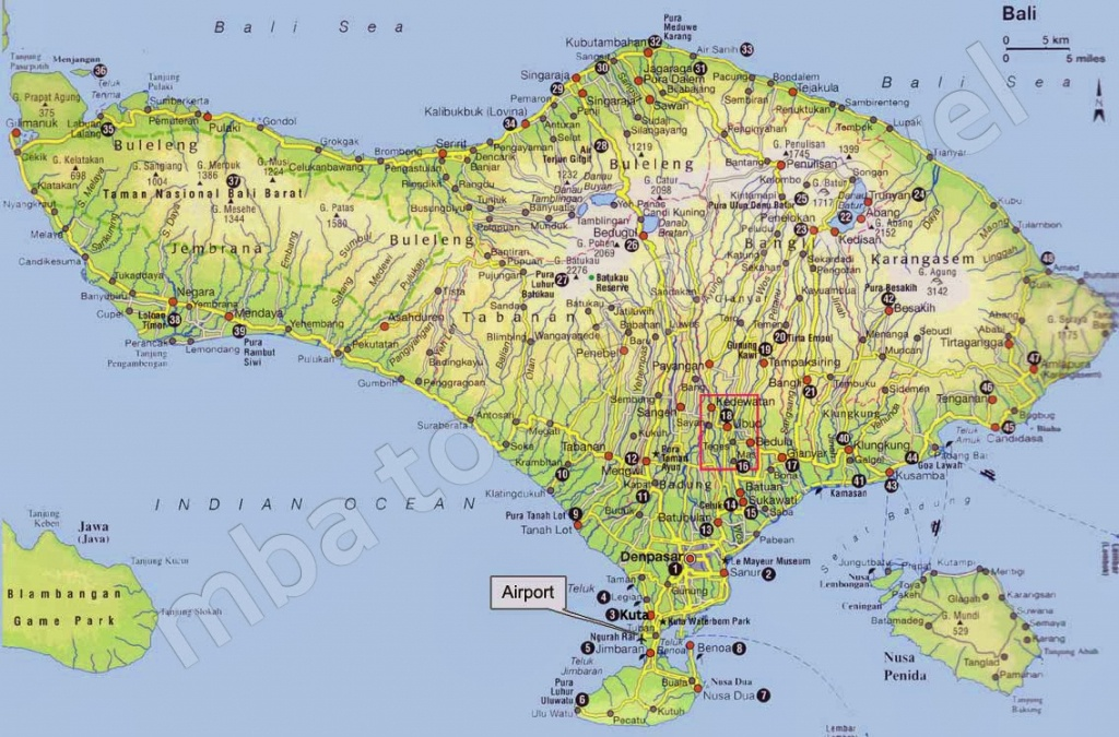 Bali Map For Free: Get Bali Map For Free Here - Printable Map Of Bali