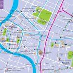 Bangkok Tourist Attractions Map   Bangkok Tourist Map Printable