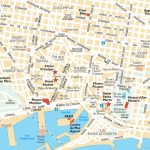 Barcelona Attractions Map Pdf   Free Printable Tourist Map Barcelona   Barcelona City Map Printable